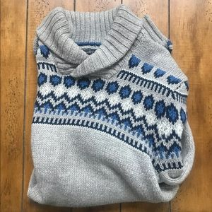 AmercianEagle (Holiday Edition) Blue/Grey Sweater